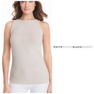 White House Black Market Sleeveless Knit Sweater